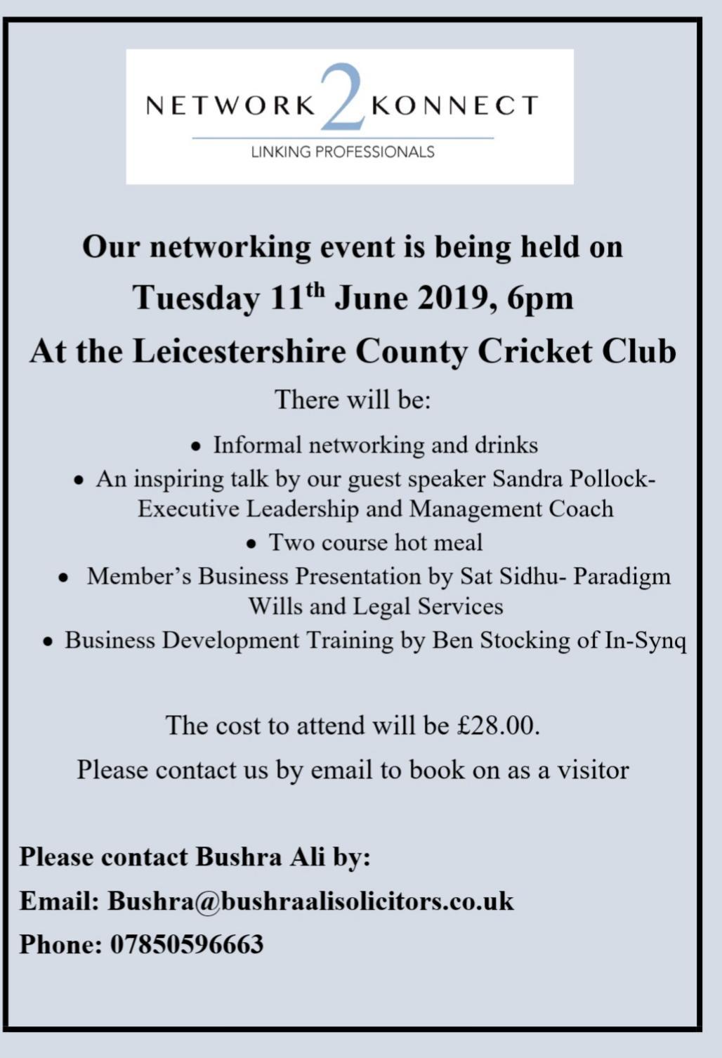 Bushra Ali - Network 2 Connect